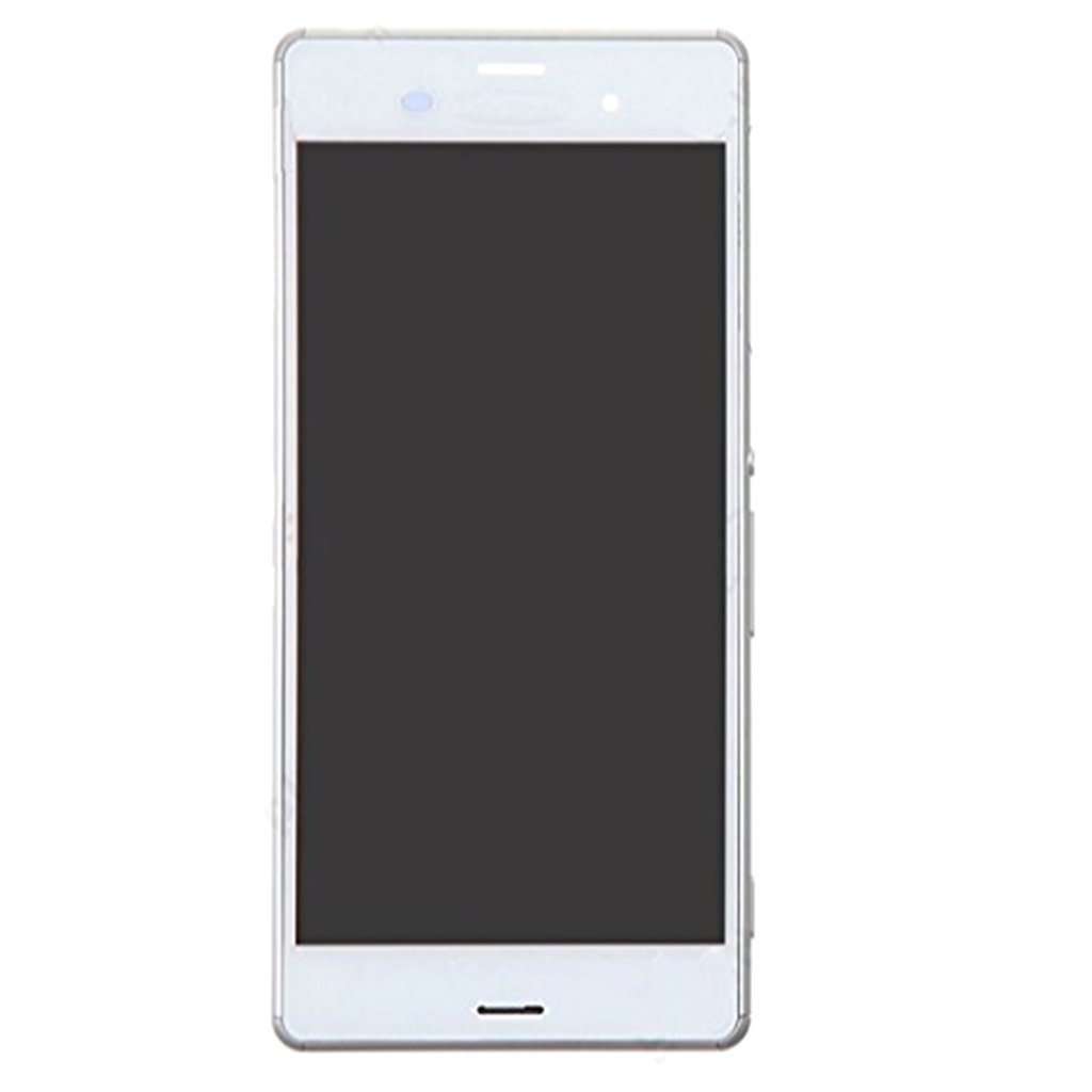 Homyl Replacement Pats,LCD Display + Touch Screen Assembly for Sony Xperia Z3 Mini Compact D6603 5.2 inch (White)