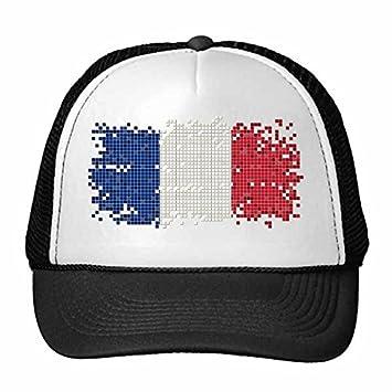 DIYthinker Francia Simple cuadrícula Bandera Nacional de ...
