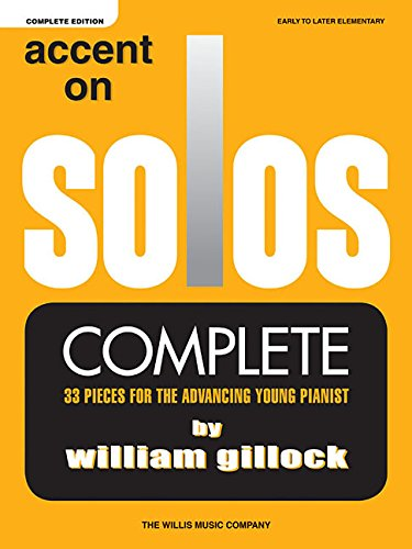 Accent on Solos - Complete: Early to Later Elementary Level
