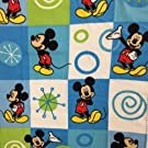Disney Mickey Mouse Baby Fleece Blanket Blue 38x28