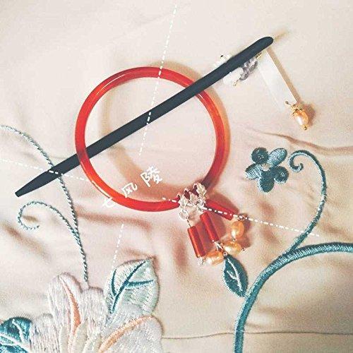 f695fcf2c879 Un segundo conjunto de siete modelos de doble uso viento Ling horquilla  chinos accesorios del traje de la ropa Fotografía pulsera diaria horquilla  para ...