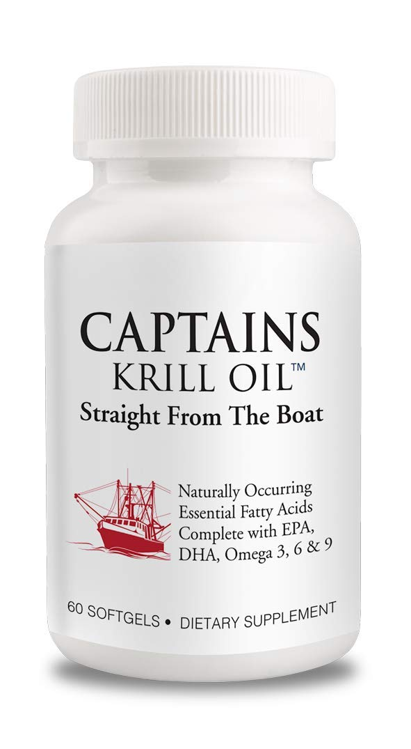 Captains Krill Oil: Different...from a Boat, Not a Factory.