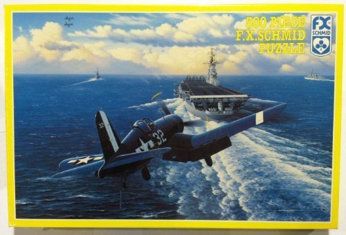 Approach to the Intrepid  500 Piece Puzzle by FX Schmid