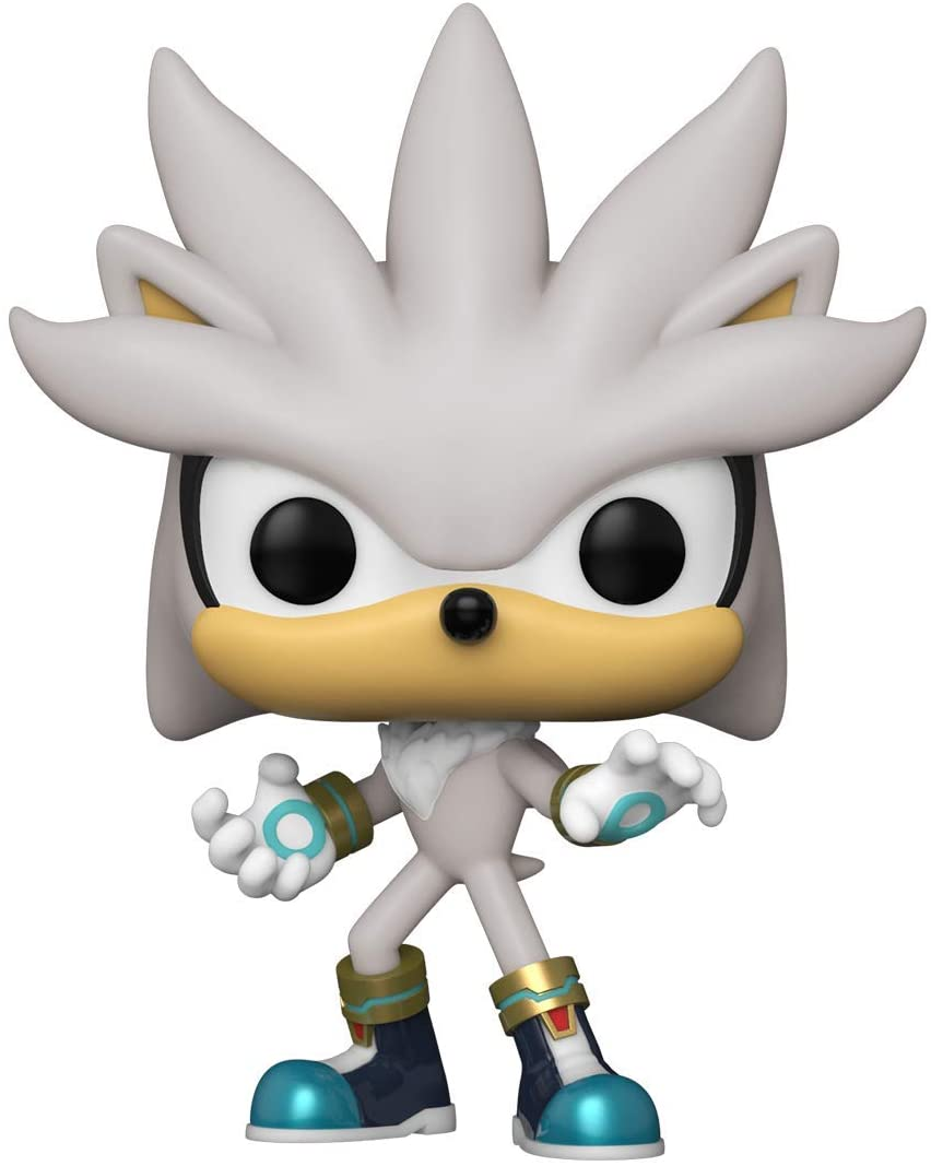 Vinyl Sonic the Hedgehog Silver Glow in the Dark 30th Anniversary #633 Pop