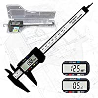 "Electronic digital calipers, LCD screen displays 0-6""caliper measuring tool, automatic shutdown, inch and millimeter…"