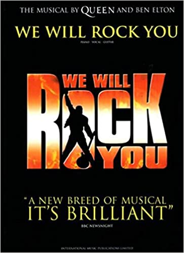 we will rock you vocal selections faber edition