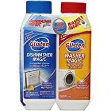 """Glisten MDAO6T Dishwasher Magic/Washer Magic Twin Pack-Includes 12 ounces of Dishwasher Magic and 12 ounces of Washer Magic"""""""