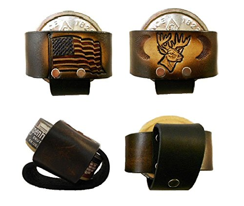 Leather Snuff Can Holder, Holster, Chewing Tobacco Case, Handcrafted, Many Tooled (Chew Holder)