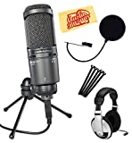 Best Audio-Technica Usbs - Audio-Technica AT2020USB+ Cardioid Condenser USB Microphone Bundle Review