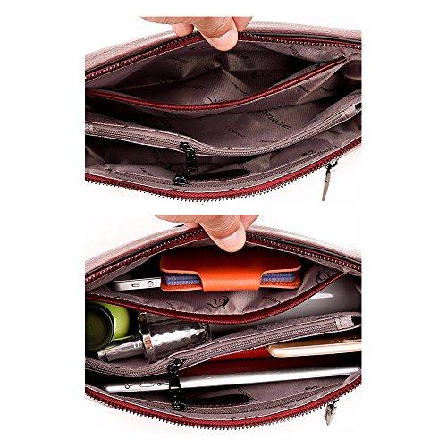 Small Satchel Alovhad Shoulder Leather Handbag Crossbody Women Bag Bag Purple Hobo Purse Women 0ZY0wFq