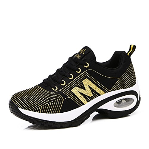 2017 Casual Fashion Sneakers Paare Schuhe Trainer Casual Sportschuhe 35-40 Gold