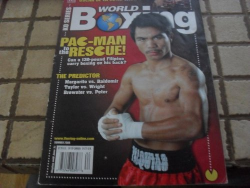 - 2006 World of Boxing Summer Issue Pac-man Pacquio on Cover Magazine