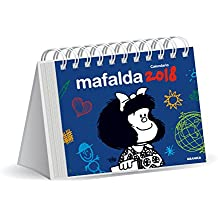 Mafalda 2018 Calendario de escritorio - Azul (Spanish Edition)