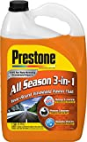 Automotive : Prestone AS658-6PK Deluxe 3-in-1 Windshield Washer Fluid, 1 Gallon (Pack of 6)