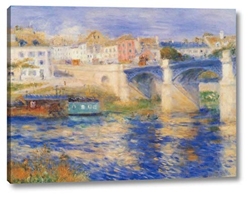 Bridge at Chatou by Pierre-Auguste Renoir - 21