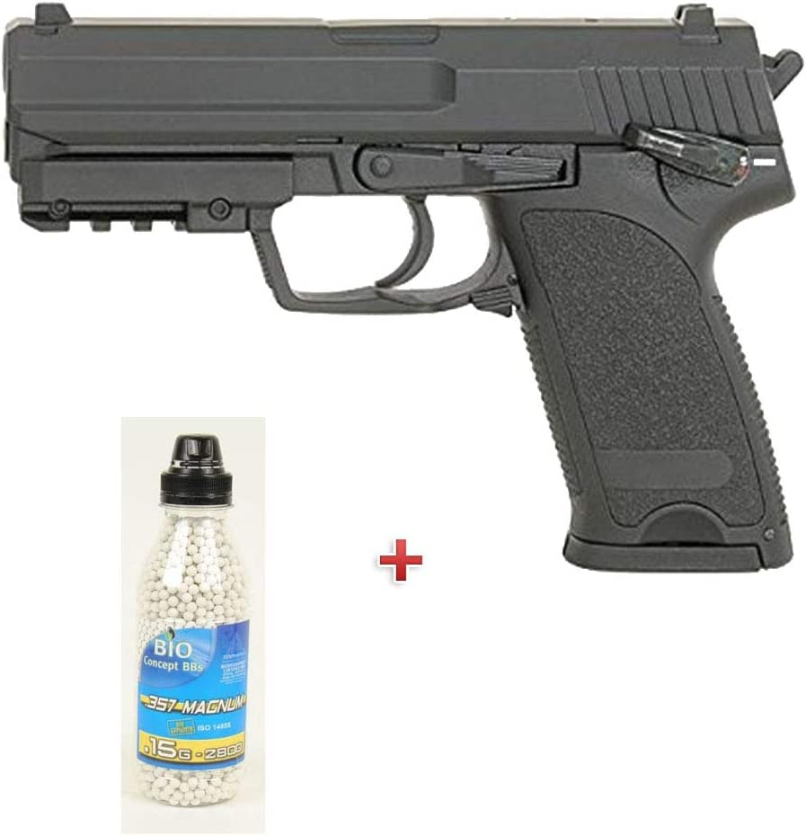Airsoft Aep Gun Pack CM125 USP (0.5 Julios) con una Botella de ...