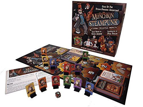 Steve Jackson Games Munchkin Steampunk Deluxe Card Game 5