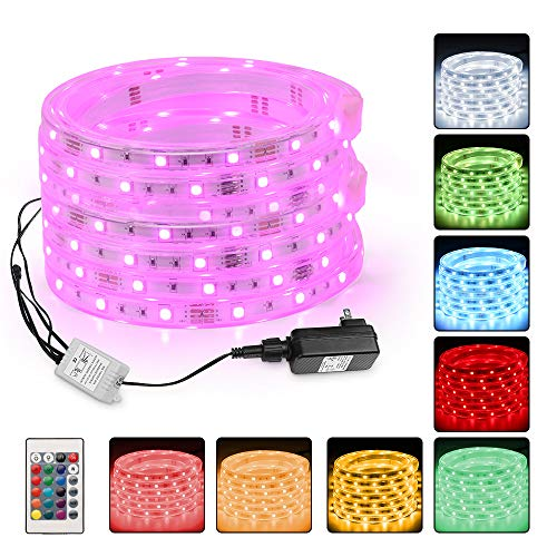 12 Volt Led Rope Lights Color Changing in US - 9
