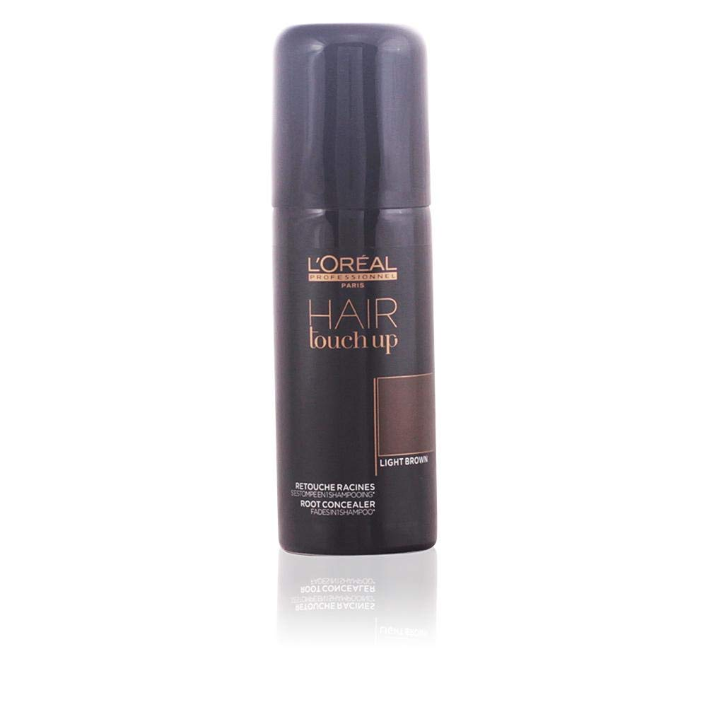 L'Oreal Professional Hair Touch Up Root Concealer Spray, Light Brown, 2.5 Ounce