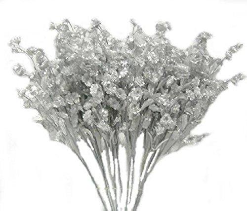 12-Silver-BabyS-Breath-Spray-Silk-Wedding-Flowers-Gypsophila-Centerpieces