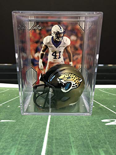 Jacksonville Jaguars NFL Helmet Shadowbox w/Josh Allen card