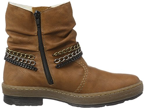 24 Women's Brown Cayenne Rieker Boots Z6793 OS8Pxqw7n