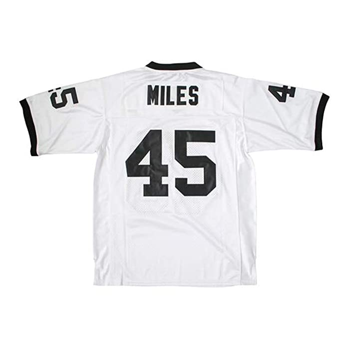 937c148f2 Amazon.com   AIFFEE Men s  45 Permian Miles Football Jersey White Color  Stithced Size S-3XL   Sports   Outdoors