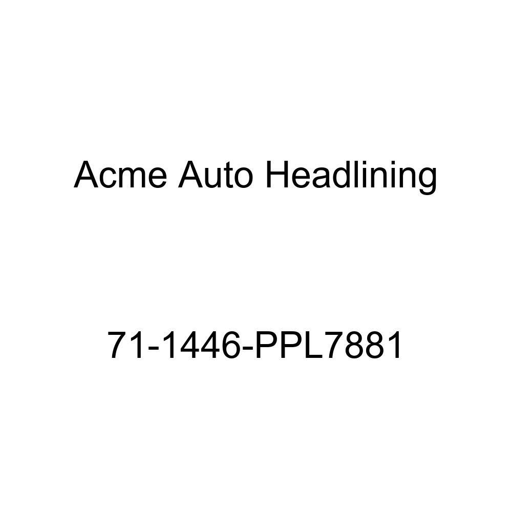 1971 Chevrolet Malibu 4 Door Hardtop Acme Auto Headlining 71-1446-PPL7881 Carmine Replacement Headliner 6 Bow