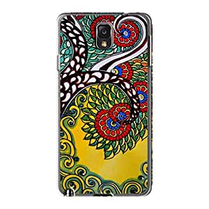 Perfect Cell-phone Hard Cover For Samsung Galaxy Note3 (mJy6257hbKV) Allow Personal Design Lifelike Nirvana Skin
