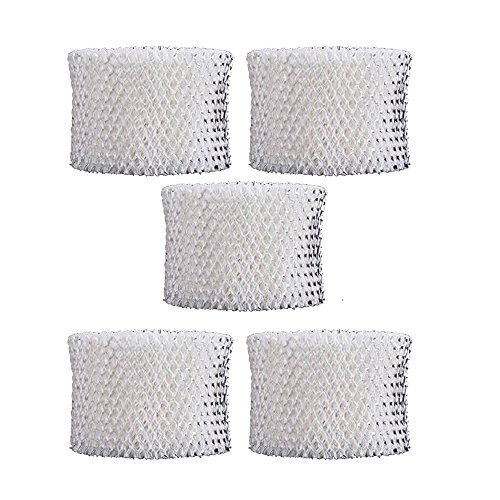 SaferCCTV 5pcs Humidifier Replacement HAC-504AW Filter for Honeywell HCM-300T, HCM-305T, HCM-310T, HCM-315T, HCM-350, HCM-600, HCM-710 and More