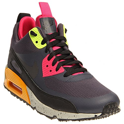 outlet store 57a50 0e473 Amazon.com  Nike Air Max 90 Sneakerboot NS Gridiron - Black - Pink Force  Mens 13  Shoes