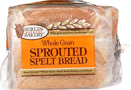 Berlín Natural Panadería brotado Espelta Pan, 19 Ounce – -6 ...