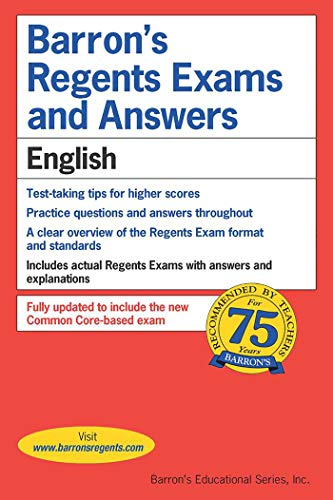 Barron's Regents Exams and Answers: English
