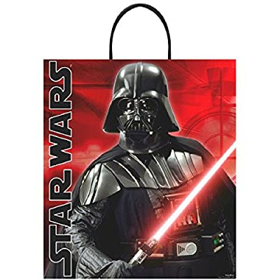 Star Wars Deluxe Plastic Treat Bag: Toys & Games