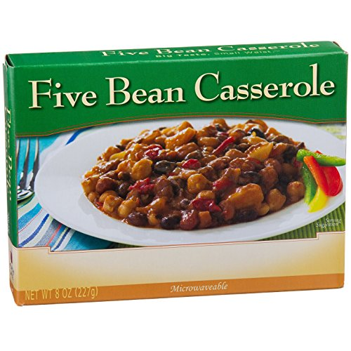 NutriWise - High Protein Diet Entree | Five Bean Casserole | Low Calorie, Low Fat, 1/Box