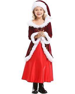 Amazon.com: ADOMI - Traje de Papá Noel para niños (10 ...
