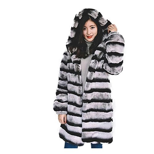 Chinchilla Fur Coat - 4