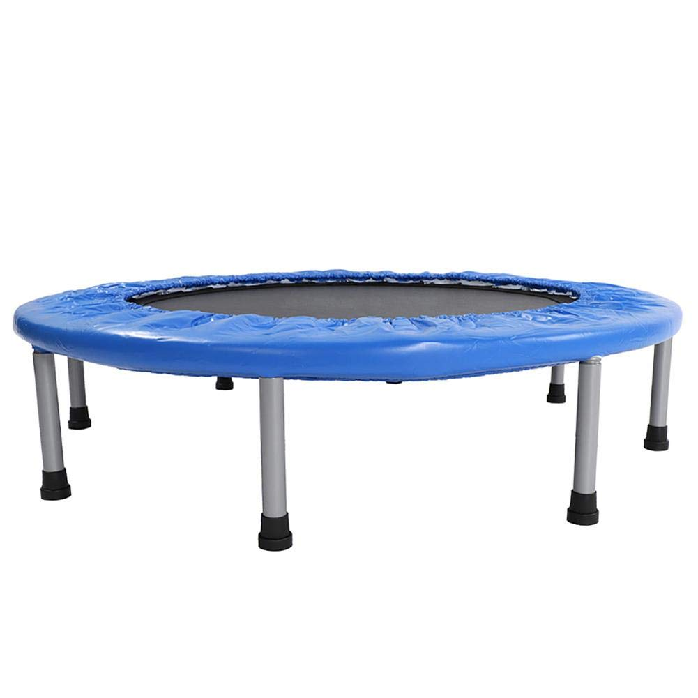 oftenrain 38'' Mini Trampoline with Padding & Springs Elastic Safe Elastic Outdoor Indoor Exercise Fitness Workout for Home Use, Blue