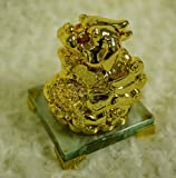 Special Feng Shui Money Mythical Wild Animal Brave Troops Pixiu in Gold Color