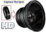 Hi-Def Professional MK III Fisheye Lens With Macro For Sony FDR-AX40 FDR-AX53