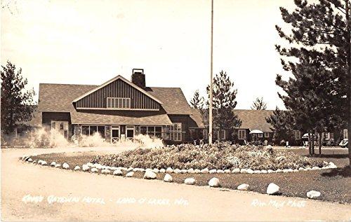 land-o-lakes-wisconsin-kings-gateway-hotel-real-photo-postcard-v10266