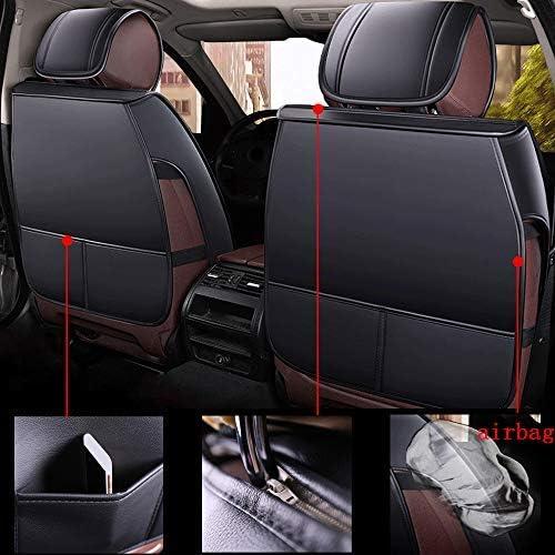 Giulietta f-Pace e-Pace XE XF XJ Delta Thema Housse de Protection pour si/ège Auto en Cuir Noir