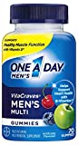One A Day Men's VitaCraves Multivitamin Gummies, 70 Count