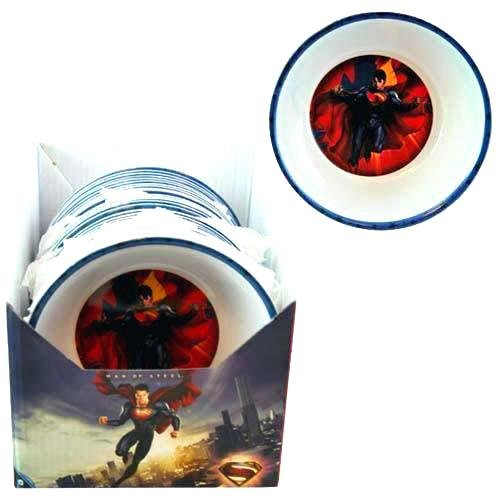SUPERMAN 5.5 CEREAL BOWL CEREAL BOWL, Case of ()