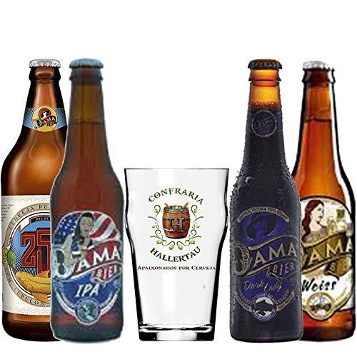Cervejas Dama Bier rótulos Hallertau
