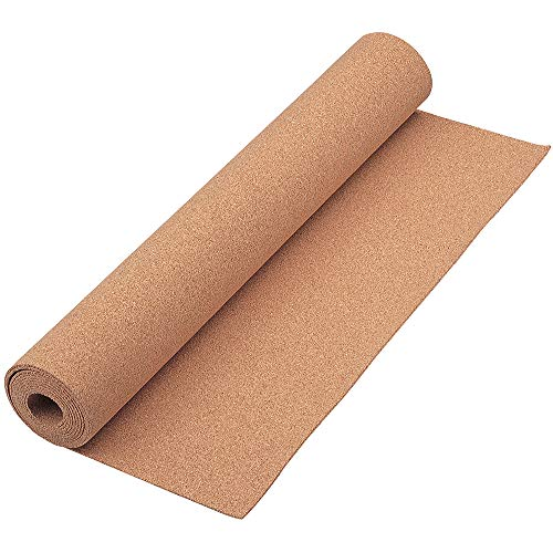Quartet Cork Rolls Strips 24 x 48quot Corkboard Bulletin Boards Natural 1 Roll 103