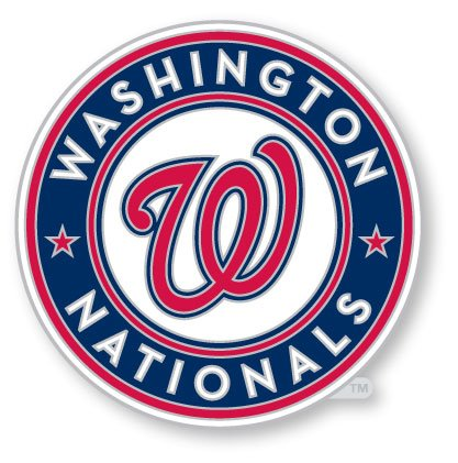(MLB Washington Nationals Logo Pin)