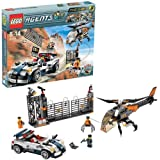 LEGO - 8634 - Jeu de construction - Agents - Mission 5: La poursuite en voiture turbo