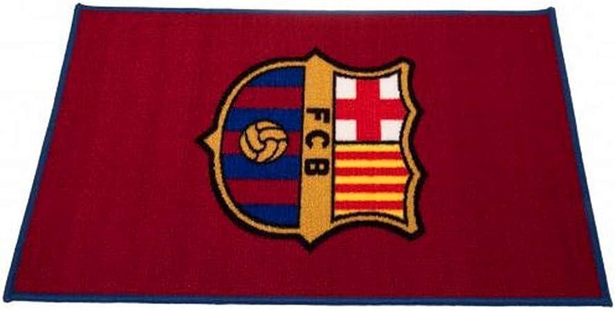 FC Barcelona Oficial de fútbol alfombra de suelo/alfombrilla, sintético, Burgundy/Blue, 50 x 80 cm: Amazon.es: Hogar