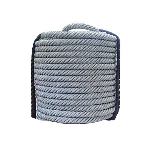 見落とす文房具退化するロッククライミングロープ、色を変更する3層編みナイロン安全ロープスパイダーマンロープ外壁クリーニングスリング脱出エスケープロープ (色 : A, サイズ : Diameter 18mm/10M)